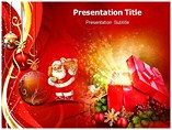 Christmas Santa Dolls - A Powerpoint Template