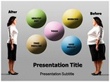 Lowering Cholestrol powerpoint template