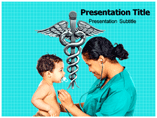Pediatric Care powerpoint template