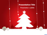 PPT Templates for Christmas Tree