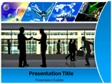E business powerpoint template