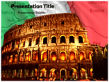 Italy Map PowerPoint Template