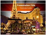 Paris At Las Vegas powerpoint template