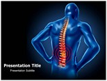 Back Injuries powerpoint template