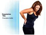 Back pain powerpoint template