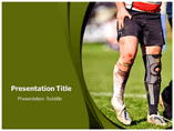 Superficial Injuries powerpoint template