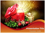 Christmas Box powerpoint template