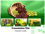 Grapes History powerpoint template