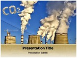 Pollution Effect PowerPoint template