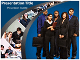 Team Work Corporate PowerPoint Template
