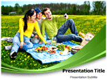 Picnic Broadway PowerPoint template