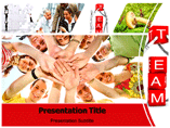 Team Work Business PowerPoint Templates, PPT Slide