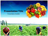 Agriculture Plantation powerpoint template
