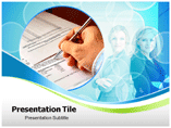 Contract Administrator powerpoint template