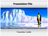 Ice Bird powerpoint template