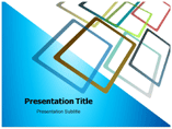 Orange Frames powerpoint template