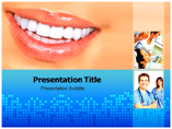 Teeth powerpoint template