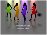 Powerpoint Background - Girls Fashion Clothes