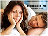 Menopause Symptoms powerpoint template