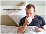 Pneumonia Symptoms powerpoint template
