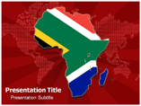 Africa Map powerpoint template