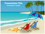Beach Boy Powerpoint template