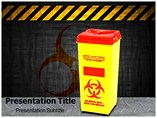 Bio Medical Waste powerpoint template