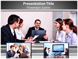 Business Meeting Invitation PowerPoint Theme
