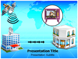 Cable Television powerpoint template
