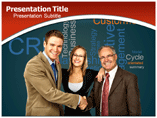 Crm powerpoint template