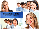 Customer Support powerpoint template