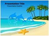 Dolphin Behaviour ppt templates