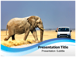 Ecotourism Travel Guide powerpoint template