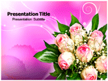 Flowers Roses PowerPoint template
