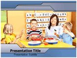Kids School powerpoint template