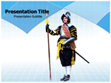 Knight Capital PowerPoint template