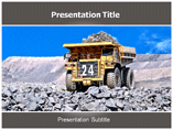 Mining powerpoint template