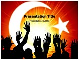 Islam Temple Mount - Powerpoint Templates