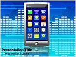 Mobile Technology Trend powerpoint template