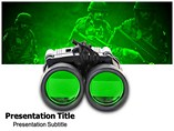 Night Vision powerpoint template