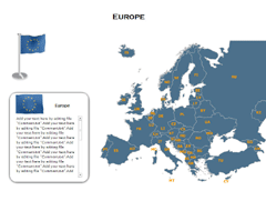Europe (XML) PowerPoint map