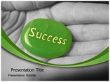 Success Stone PowerPoint Background