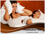 Sleeping Apnea powerpoint template