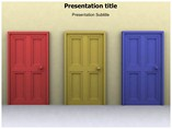 Doors Open PowerPoint Slides