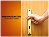 Door Handle Sets Powerpoint template