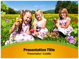 Children  PowerPoint Template for Presentation