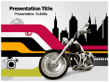 Bike Race  PowerPoint Template