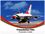 Aircraft Mechanic PowerPoint Template