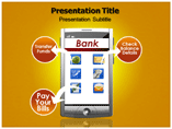 Mobile Banking PowerPoint Templates