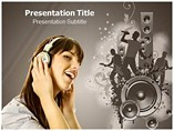 Musical Energy  PowerPoint(PPT) Template